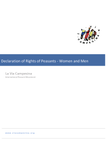 LVC declaration